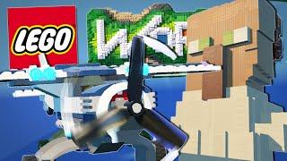 Lego Worlds | GIANT TRAYAURUS STATUE!! [#3]