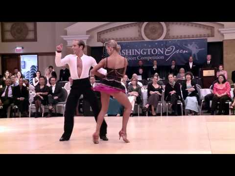 2014 Washington Open Riccardo & Yulia - Cha Cha Cha