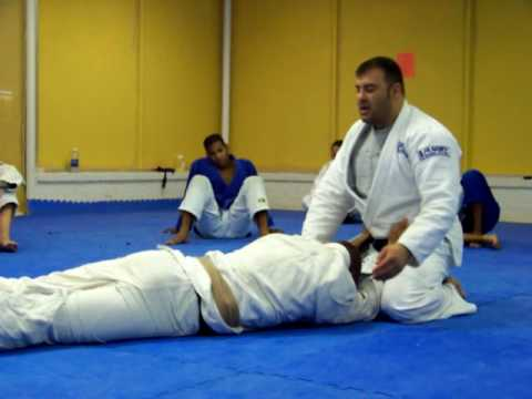 Brazilian Jiu Jitsu Side Control Escape Image 1