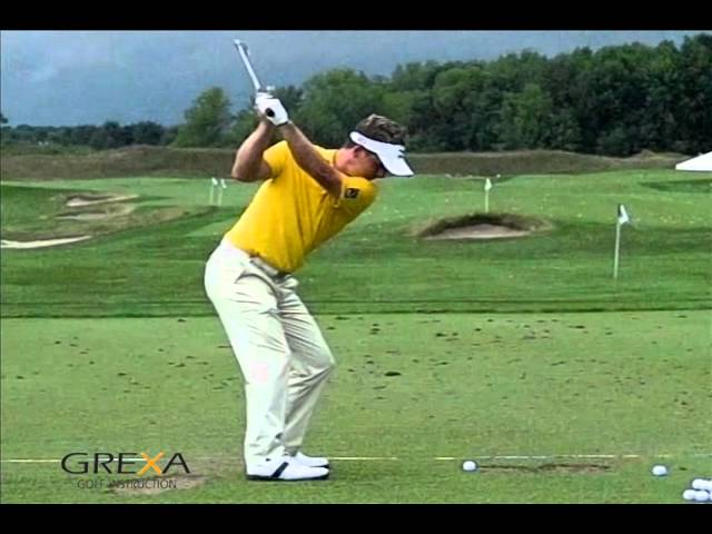 Luke Donald - slow motion golf swing