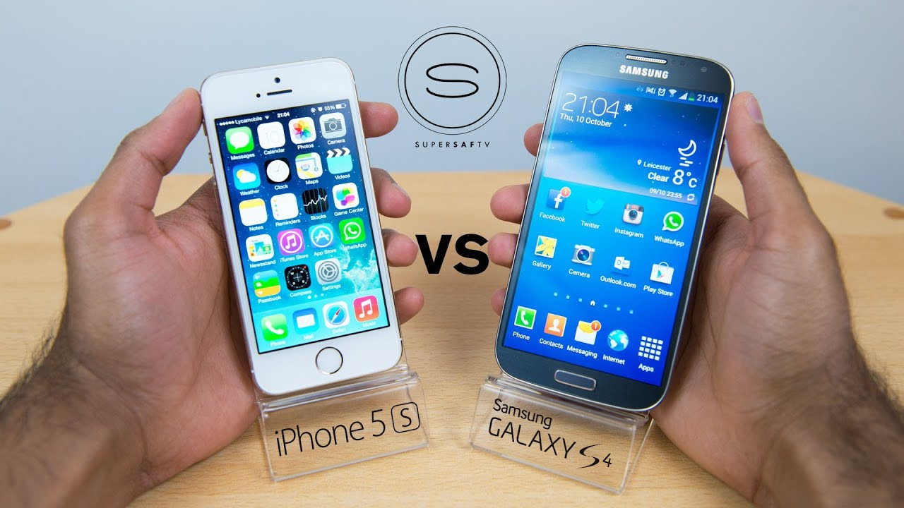 review iphone 5s vs samsung galaxy s5