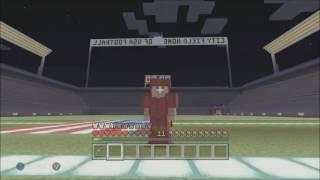 Minecraft NFL FOOTBALL! (Red Vs. Blue)