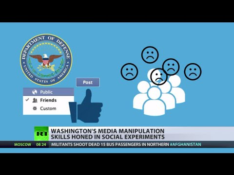 'Creepy & Scary': US military harnesses social media to manipulate online behaviour