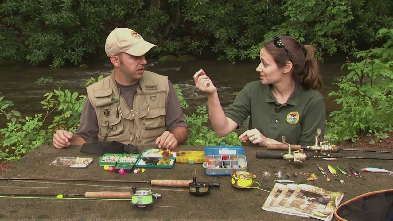 How to gear up for trout fishing youtube for Sc fishing license cost