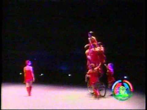 Cortitos de los acróbatas chinos en el Dia de Reyes en SD