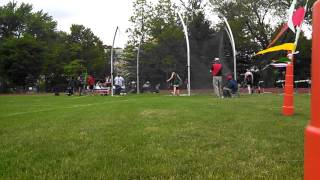 FSL championships Laura discus standing throw