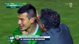 El mejor jugador del partido fue Hirving Lozano