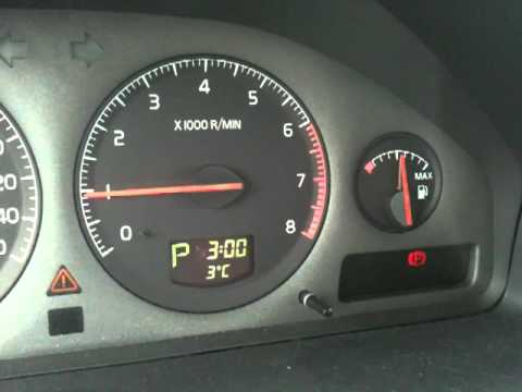 2003 Volvo XC70 Driver Information Module (DIM) Malfunction - YouTube