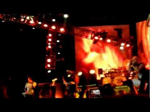 5 Finger Death Punch- Burn It Down- Trespass America- Prudential Center- 8/18/12