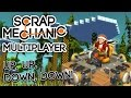 Scrap Mechanic - #14 - Up, Up, Down, Down! (4 Player Flying Challenge)