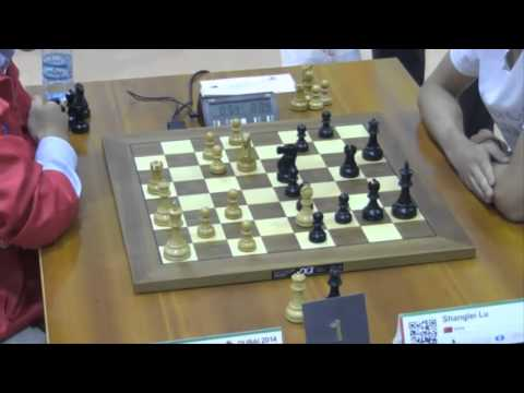 Le Quang Liem vs Shanglei Lu - 2014 World Blitz Championship