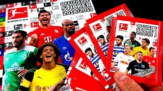 Topps BUNDESLIGA STICKER 18/19 😱🔥 Unboxing