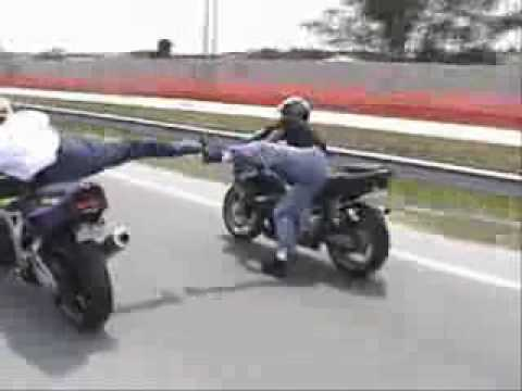Motorcycle Crashes Video