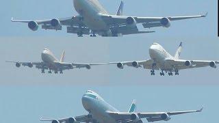 Back to Back Boeing 747 Landing Action at Mumbai Chhatrapati Shivaji International Airport!!!