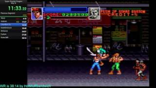 Super Double Dragon Any % Speed run in 37:44