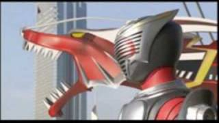 Power Rangers Ultra Force vs Kamen Rider Dragon Knight