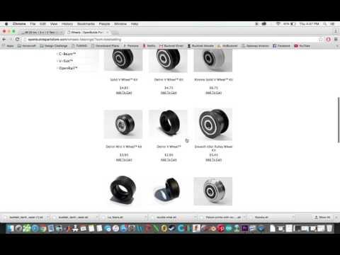 gCreate gMax 1.5 XT++ Build Series - Creating The BOM