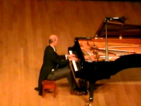 Rachmaninoff Vocalise - Arr. Solo Piano. Alan Fraser at Sevenoaks School, London, Aug 2013