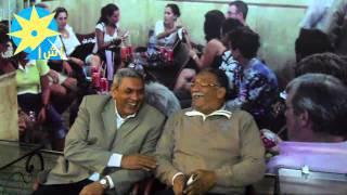 بالفيديو: فى لفتة طيبة لافتة كبيرة للمخرج الأثيوبى هايلى جريما  على مقهى أم كلثوم التاريخى بالأقصر