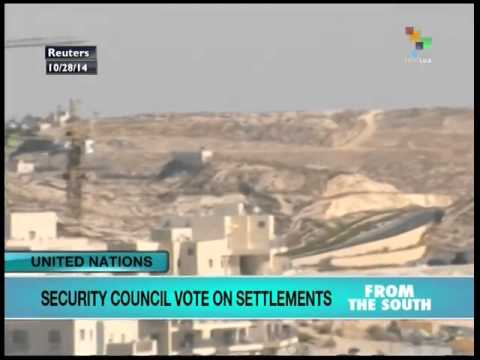 UN Security Council votes on Zionist settlements in Palestine
