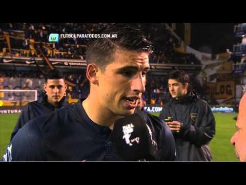 Calleri: Mi primer gol en La Bombonera .Boca 1 Racing 0. Fecha 7.Primera División 2014. FPT.