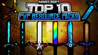 Top 10 Minecraft PvP Resource Pack/Texture 1.7/1.8/1.9.0