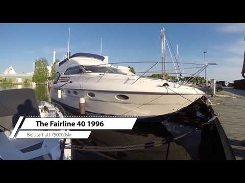 Baying a Fairline 40