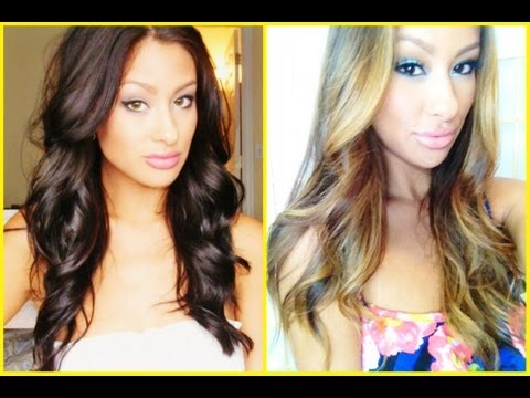 "DIY: How to go from DARK to LIGHT hair (Talk Thru) ""ombre-balayage"""