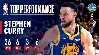 Stephen Curry Scores 30+ in 4th Straight Game | May 18, 2019