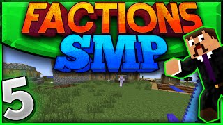 Minecraft Factions SMP #5 - Tensions Are Rising! (Private Factions Server)