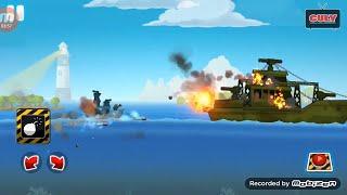 trò chơi bắn tàu chiến trên biển Battleships cu lỳ chơi game lồng tiếng vui nhộn