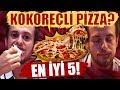 İstanbul'un En İyi 5 Pizzasını Test Ettim -Kokoreçli Pizza? #AlperinEnleri