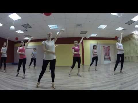 Бачата урок3 (Женская стилистика) / группа Юлии Тюриной / Dance Center