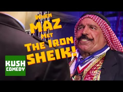 WWE's Iron Shiek Takes On Maz Jobrani