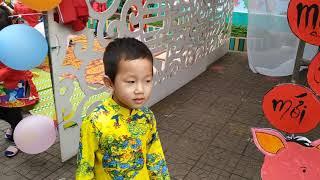 Trường Mầm non Nghi Xuân, Nghi Lộc tổ chức hoạt động mừng xuân mới 2019