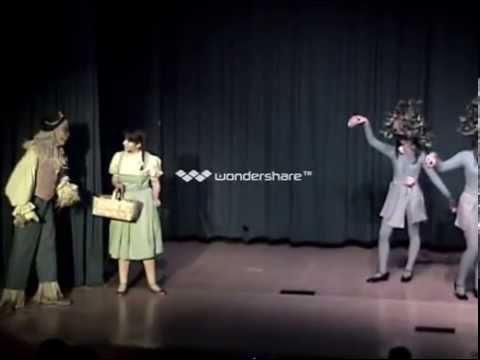 Villa Madonna Academy Wizard of Oz Scenes