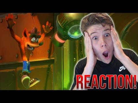 Crash Bandicoot N.Sane Trilogy Trailer REACTION - HOLY SH*T!