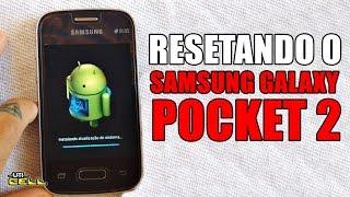 Formatando/Restaurando o Samsung Galaxy Pocket 2 (SM-G110)