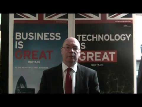 Foreign Office Minister Alistair Burt in the Netherlands
