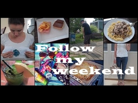Follow My Weekend - Minigolf, Mini Food Diary, Shopping video