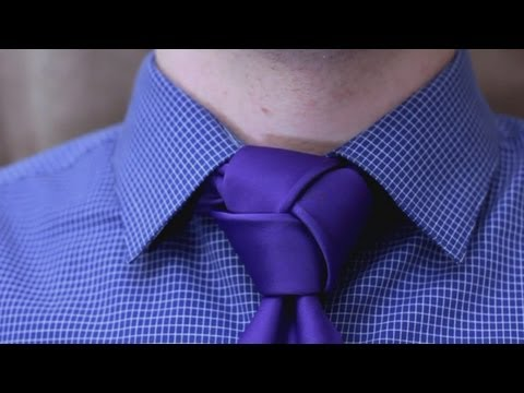 How to tie a tie - Trinity Knot