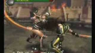 Mortal Kombat Shaolin Monks: Scorpion Vs Shao Kahn (Final Boss)