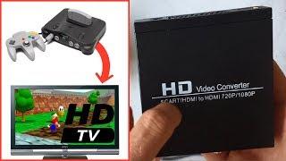HD Video Converter : test avec la NINTENDO 64
