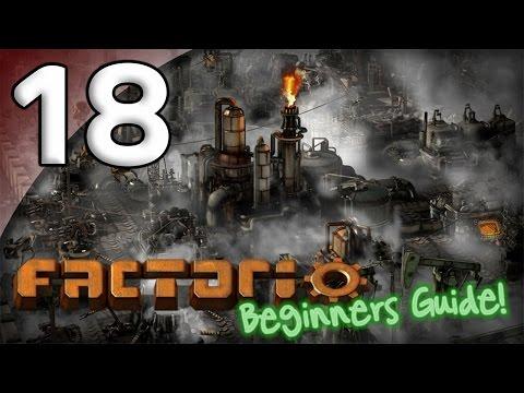 Factorio Beginner's Guide - 18. Oil Shortage - Let's Play Factorio Gameplay