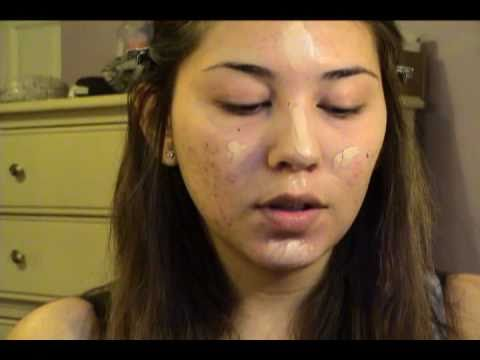 Make Up Forever Acne Scaring Foundation Routine