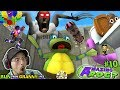 GRANNY & the Magic Space Toilet + AMAZING FROG Monster Worm Chase & FORTNITE Balloon Pops FGTEEV #10