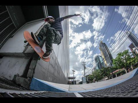 Javier Marin - Skateboarding Panama
