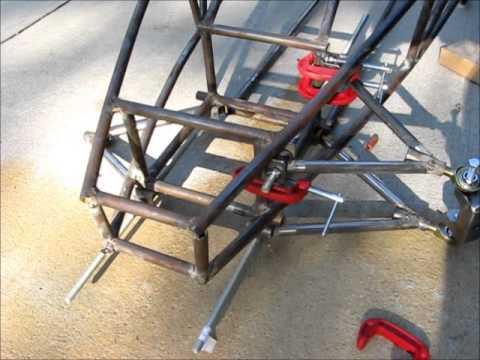 how to make a homemade go kart frame