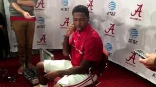 Alabama WR Calvin Ridley | national title prep