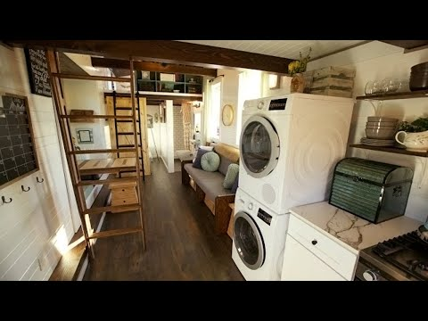 TOP 3 Luxurious Farmhouse Style Tiny House Is Beautiful
